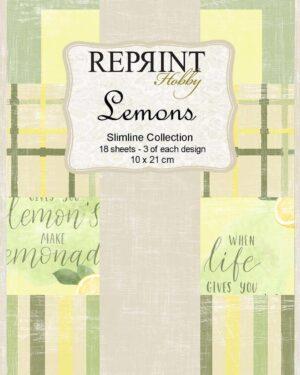 Reprint Lemons Slimline Paper Pack (RPS006)
