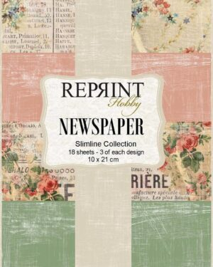 Reprint Newspaper Slimline Paper Pack (RPS004)