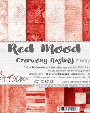 Craft O' Clock – BASIC 13 – RED MOOD – 20,3X20,3 CM