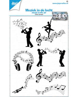 6410/0535 – Clearstempel – Muziek in de lucht