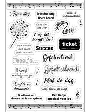6015/0001 – Joy! Design Stickers – Muziek