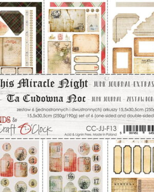 THIS MIRACLE NIGHT – JUNK JOURNAL EXTRAS SET