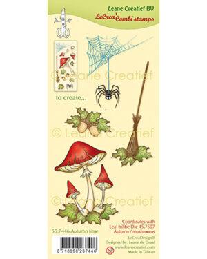 Leane Creatief 557446 – Combi clear stamp Herfst