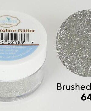 Elizabeth Craft Design – Silk Microfine Glitter – Brushed Pewter 646