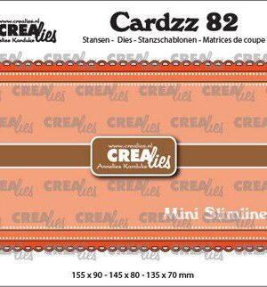 Crealies Cardzz no 82 Mini Slimline B