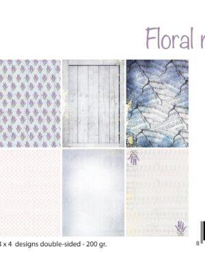 6011/0671 – Papierset – Design Floral Melody