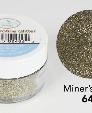 Elizabeth Craft Design – Silk Microfine Glitter – Miners Gold 643
