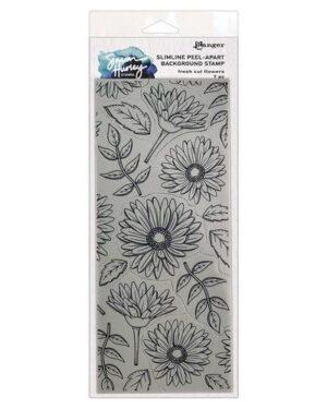 Ranger SH Slimline Stamps Fresh Cut Flowers