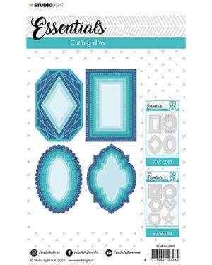 """Pre Order"" SL-ES-CD83 – SL Cutting Die Shapes nested large Essentials nr.83"