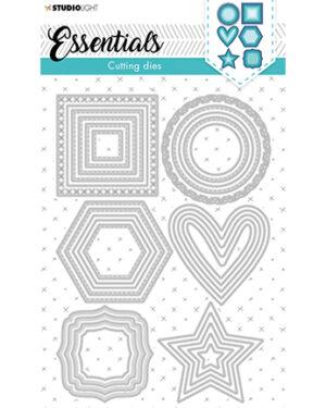 """Pre Order"" SL-ES-CD84 – SL Cutting Die Shapes nested small Essentials nr.84"