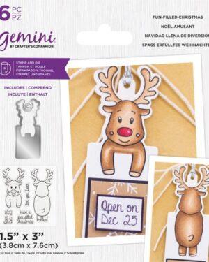 Gemini Fun-filled Christmas Stamp & Die