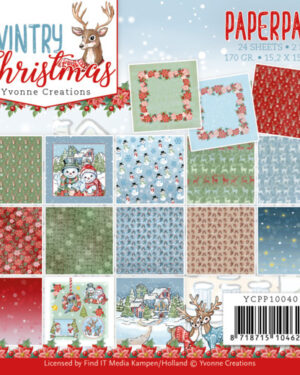 Paperpack – Yvonne Creations – Wintery Christmas